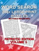 Word Search  Patriotic Edition