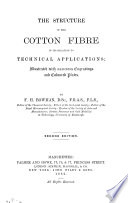 The Structure of the Cotton Fibre in Its Relation to Technical Applications