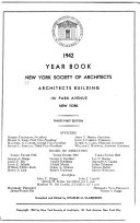 Year Book of the New York Society of Architects