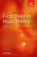 First Steps in Music Theory, Grades 1 to 5