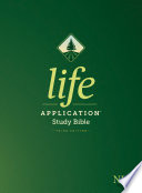 NLT Life Application Study Bible, Third Edition (Red Letter, Hardcover)
