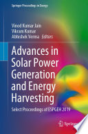 Advances in Solar Power Generation and Energy Harvesting