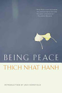 Being Peace Book