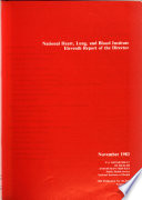 Report of the Director of the National Heart  Lung  and Blood Institute Book
