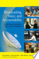 Broadcasting Voice And Accountability