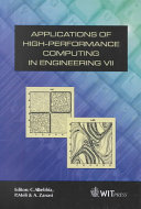Applications of High-performance Computing in Engineering VII