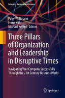 Three Pillars of Organization and Leadership in Disruptive Times