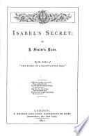 Isabel S Secret Or A Sister S Love Book PDF