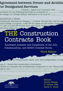 The Construction Contracts Book