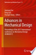 Advances in Mechanical Design Book