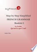 Step by Step Simplified French Grammar