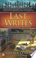 Last Writes Book PDF