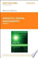 Dental Radiography   E Book