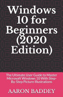 Windows 10 For Beginners 2020 Edition