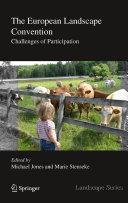 The European Landscape Convention [Pdf/ePub] eBook