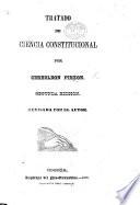 Tratado de ciencia constitucional      Segunda edicion
