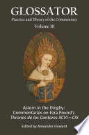Astern In The Dinghy Commentaries On Ezra S Pound S Thrones De Los Cantares Xcvi Cix