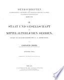 Staat und gesellschaft im mittelalterlichen Serbien