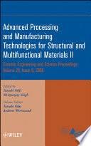 Advanced Processing and Manufacturing Technologies for Structural and Multifunctional Materials II