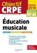 Pdf Objectif CRPE Éducation musicale 2018 Telecharger