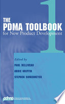 The PDMA ToolBook 1 for New Product Development Book