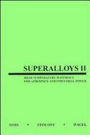 Superalloys II Book