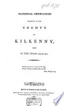 Statistical Observations Relative to the County of Kilkenny