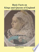 Basic Facts On Kings And Queens Of England