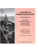 A History of World Societies Book PDF