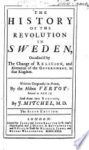The history of the revolution in Sweden...