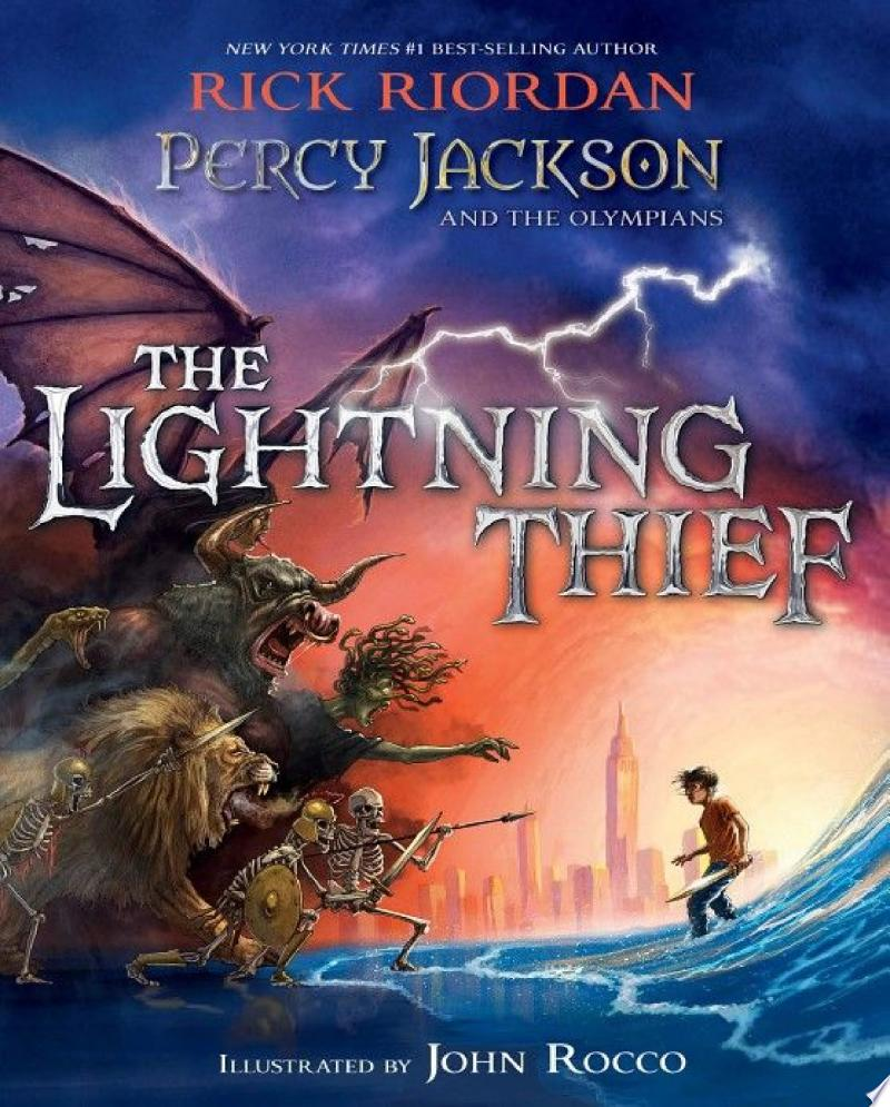 Percy Jackson and the Olympians: The Lightning Thief Illustrated Edition image