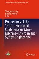 Pdf Proceedings of the 14th International Conference on Man-Machine-Environment System Engineering Telecharger