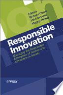 Responsible Innovation