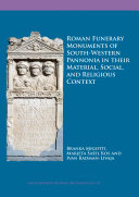 Pdf Roman Funerary Monuments of South-Western Pannonia in their Material, Social, and Religious Context Telecharger