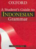 A Student s Guide to Indonesian Grammar
