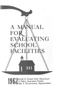 A Manual for Evaluating School Facilities