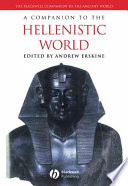 A Companion to the Hellenistic World
