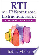RTI With Differentiated Instruction  Grades K   5