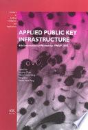 Applied Public Key Infrastructure