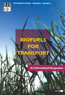 Biofuels for Transport Book