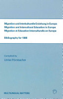 Migration and Intercultural Education in Europe