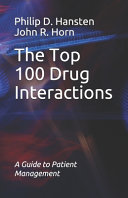 The Top 100 Drug Interactions Book