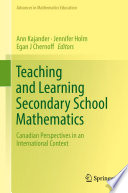 Teaching and Learning Secondary School Mathematics Book