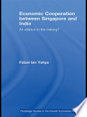 Economic Cooperation between Singapore and India