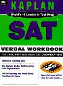 Kaplan SAT Verbal Workbook 1997