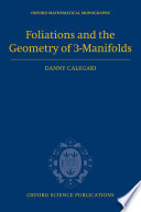 Foliations and the Geometry of 3-Manifolds