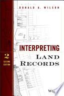 Interpreting Land Records Book PDF