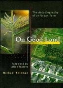 On Good Land Book