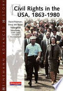 Cover of Civil Rights in the USA, 1863-1980