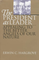 The President as Leader Book
